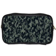 Camouflage Tarn Military Texture Toiletries Bags 2 Side by Celenk