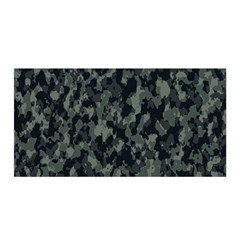 Camouflage Tarn Military Texture Satin Wrap by Celenk