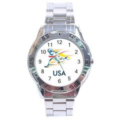 F686a000 1c25 4122 A8cc 10e79c529a1a Stainless Steel Analogue Watch by MERCH90
