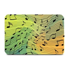 Music Notes Plate Mats by linceazul