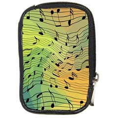 Music Notes Compact Camera Cases by linceazul