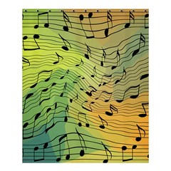 Music Notes Shower Curtain 60  X 72  (medium)  by linceazul