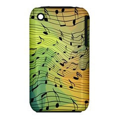 Music Notes Iphone 3s/3gs by linceazul