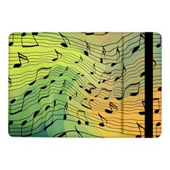 Music Notes Samsung Galaxy Tab Pro 10 1  Flip Case by linceazul