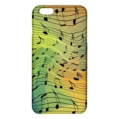 Music Notes Iphone 6 Plus/6s Plus Tpu Case by linceazul