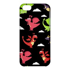 Cute Flying Dragons Apple Iphone 5c Hardshell Case by allthingseveryday