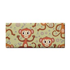 Cute Cartoon Monkeys Pattern Cosmetic Storage Cases by allthingseveryday