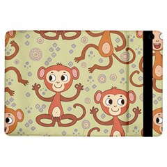 Cute Cartoon Monkeys Pattern Ipad Air Flip by allthingseveryday
