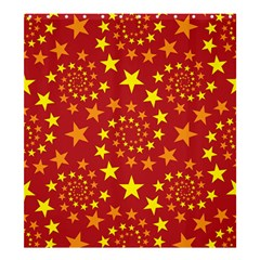 Star Stars Pattern Design Shower Curtain 66  X 72  (large)  by Celenk