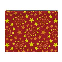 Star Stars Pattern Design Cosmetic Bag (xl) by Celenk