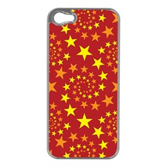 Star Stars Pattern Design Apple Iphone 5 Case (silver)