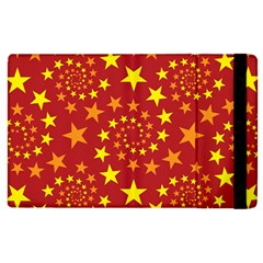Star Stars Pattern Design Apple Ipad 2 Flip Case by Celenk