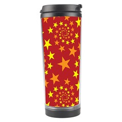 Star Stars Pattern Design Travel Tumbler by Celenk