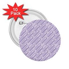 Halloween Lilac Paper Pattern 2 25  Buttons (10 Pack)  by Celenk