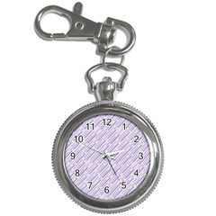 Halloween Lilac Paper Pattern Key Chain Watches