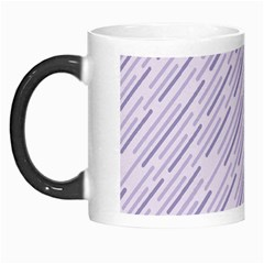 Halloween Lilac Paper Pattern Morph Mugs by Celenk