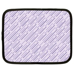 Halloween Lilac Paper Pattern Netbook Case (xxl)  by Celenk