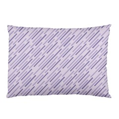 Halloween Lilac Paper Pattern Pillow Case (two Sides) by Celenk