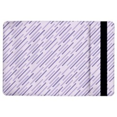 Halloween Lilac Paper Pattern Ipad Air 2 Flip by Celenk