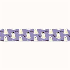 Bat And Ghost Halloween Lilac Paper Pattern Small Bar Mats