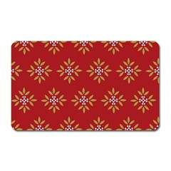Pattern Background Holiday Magnet (rectangular) by Celenk