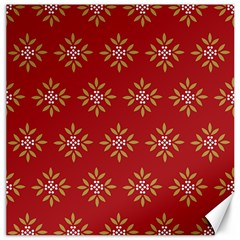 Pattern Background Holiday Canvas 20  X 20   by Celenk