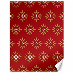 Pattern Background Holiday Canvas 36  X 48   by Celenk