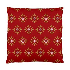 Pattern Background Holiday Standard Cushion Case (one Side) by Celenk