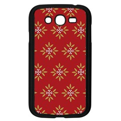 Pattern Background Holiday Samsung Galaxy Grand Duos I9082 Case (black)