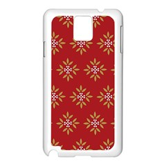 Pattern Background Holiday Samsung Galaxy Note 3 N9005 Case (white)
