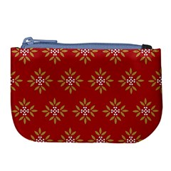 Pattern Background Holiday Large Coin Purse by Celenk