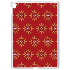 Pattern Background Holiday Apple Ipad Pro 9 7   White Seamless Case by Celenk