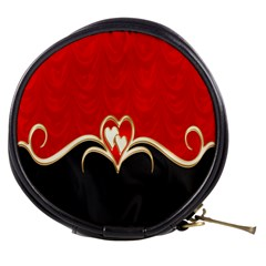 Red Black Background Wallpaper Bg Mini Makeup Bags