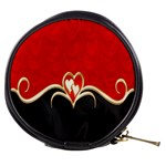 Red Black Background Wallpaper Bg Mini Makeup Bags Front