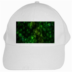 Bokeh Background Texture Marijuana White Cap by Celenk