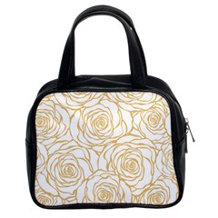 Yellow Peonies Classic Handbags (2 Sides) by 8fugoso