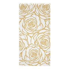 Yellow Peonies Shower Curtain 36  X 72  (stall)  by 8fugoso