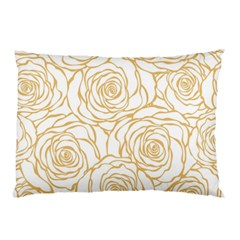 Yellow Peonies Pillow Case (two Sides) by 8fugoso