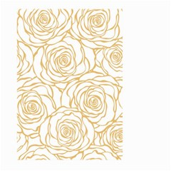 Yellow Peonies Large Garden Flag (two Sides) by 8fugoso