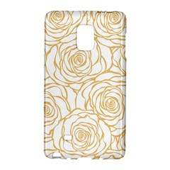 Yellow Peonies Galaxy Note Edge by 8fugoso