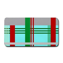 Christmas Plaid Backgrounds Plaid Medium Bar Mats by Celenk