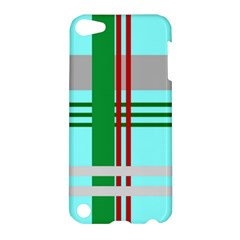 Christmas Plaid Backgrounds Plaid Apple Ipod Touch 5 Hardshell Case