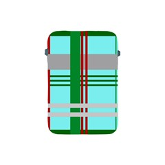 Christmas Plaid Backgrounds Plaid Apple Ipad Mini Protective Soft Cases by Celenk