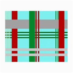 Christmas Plaid Backgrounds Plaid Small Glasses Cloth