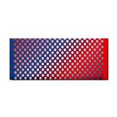 Dots Red White Blue Gradient Cosmetic Storage Cases