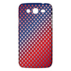 Dots Red White Blue Gradient Samsung Galaxy Mega 5 8 I9152 Hardshell Case  by Celenk