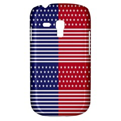 American Flag Patriot Red White Galaxy S3 Mini by Celenk