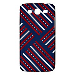 Patriotic Red White Blue Stars Samsung Galaxy Mega 5 8 I9152 Hardshell Case  by Celenk