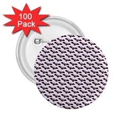 Halloween Lilac Paper Pattern 2 25  Buttons (100 Pack)