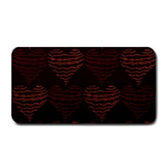Heart Seamless Background Figure Medium Bar Mats by Celenk